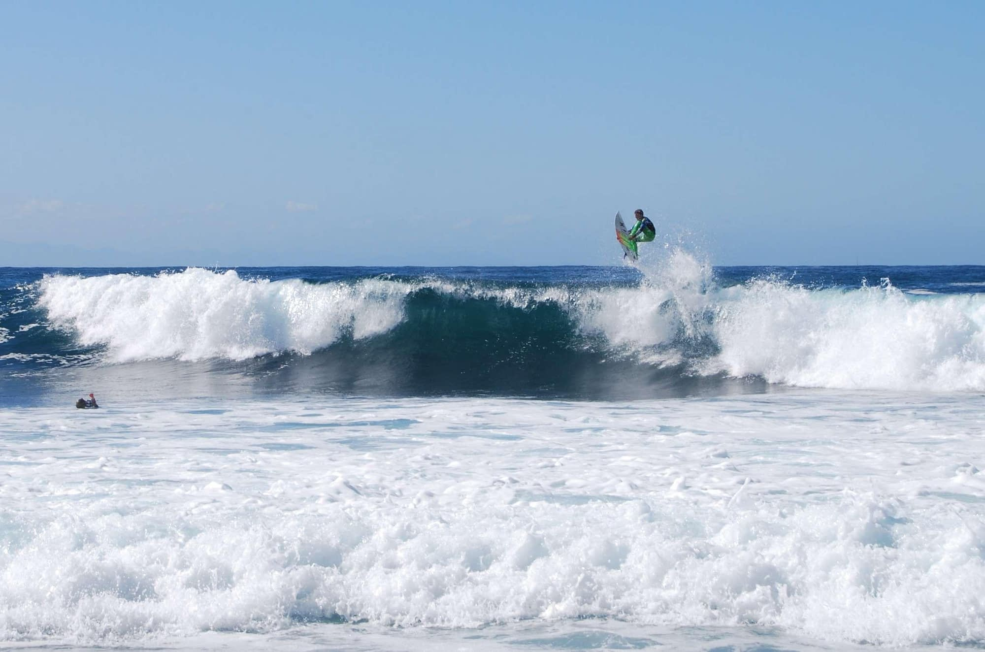 freestyle competition at the billabong pro mossel bay