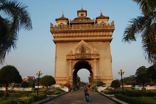 Patuxai gate Vientiane Things to do