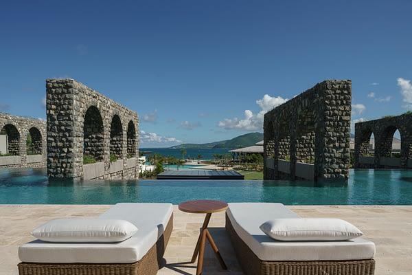Park Hyatt St Kitts Luxury Hotel - Rampart Pool