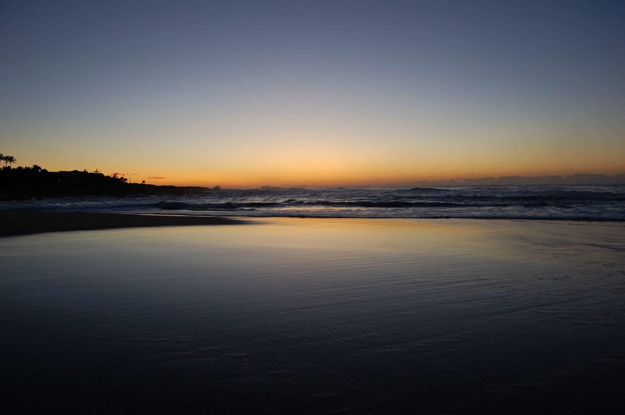 Sunrise southbroom beach south africa