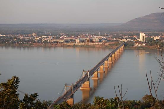 Lao-Nippon Bridge Pakse laos