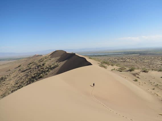 Kazakhstan singing dunes