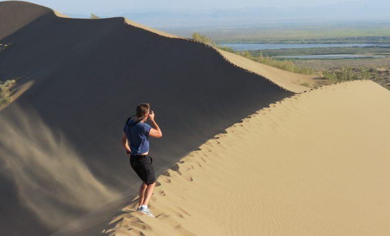 Sand Dunes Altyn Emel