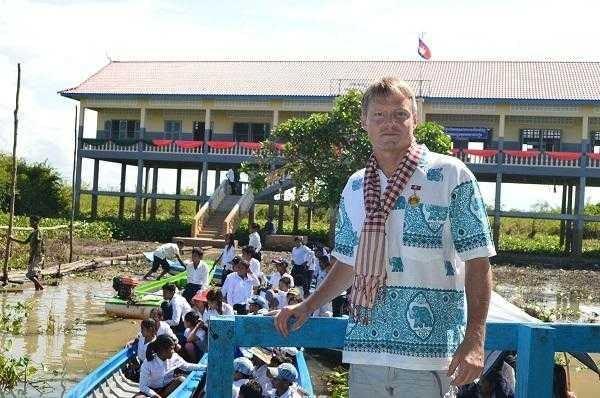 School project Cambodia