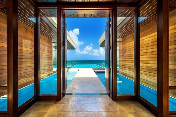 Park Hyatt St Kitts Luxury Hotel - Presidential Villa Entrance