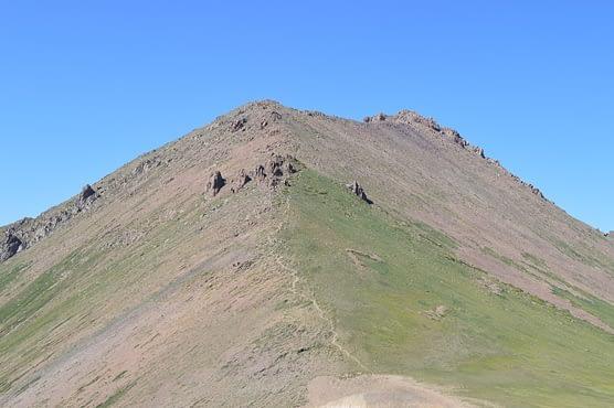Shymbulak Ridge Line