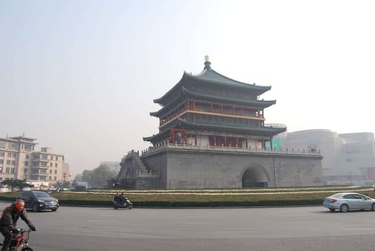 Photo Bell Tower of Xian China