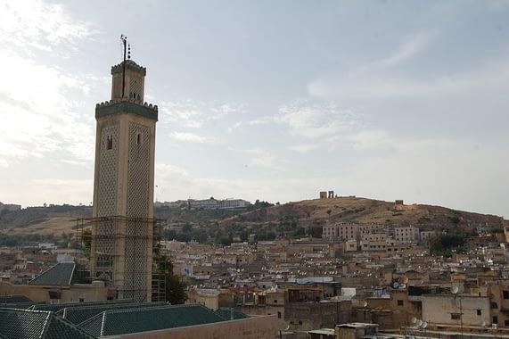 Minaret of Zawiya Moulay Idriss II