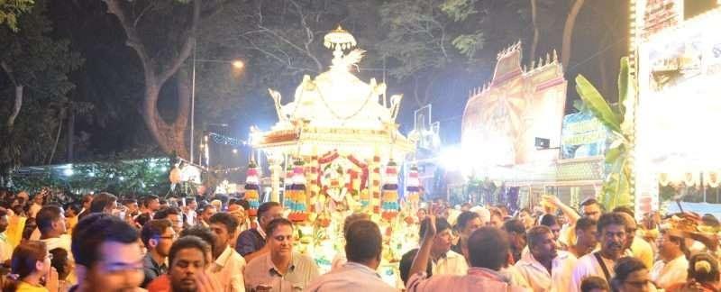 Golden Chariot Peneng Thaipusam Festival