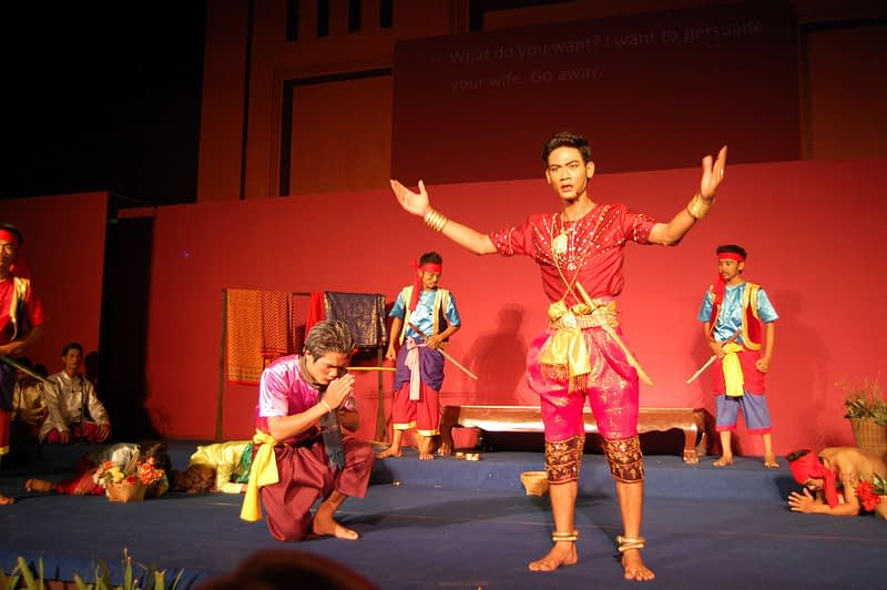 Khmer Opera Phnom Penh Cambodia