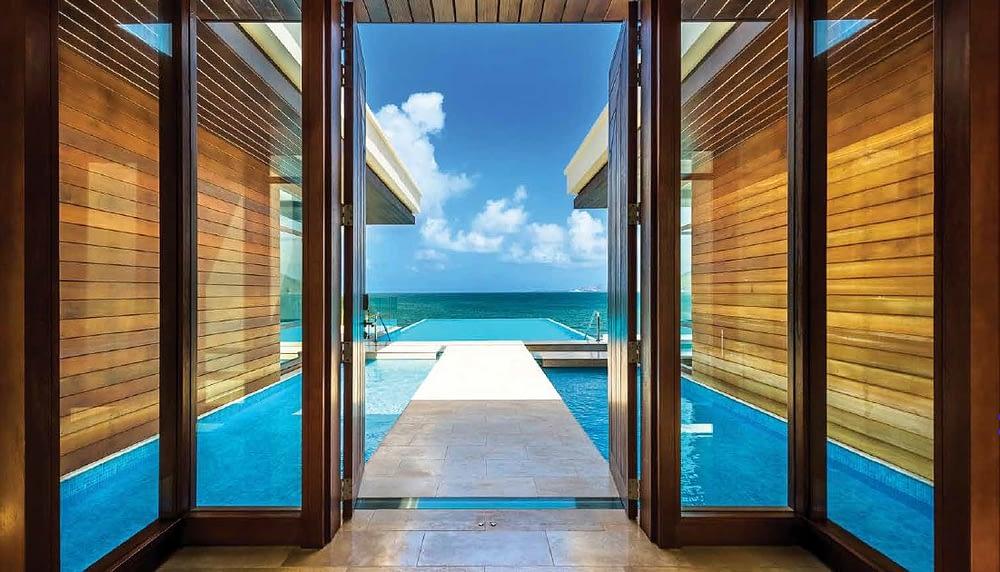 Park Hyatt St Kitts, Presidential Villa - Exit to the Pool