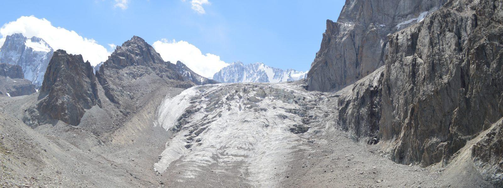 Ak Sai Glacier Basin Ala Archa National Park Kyrgyzstan