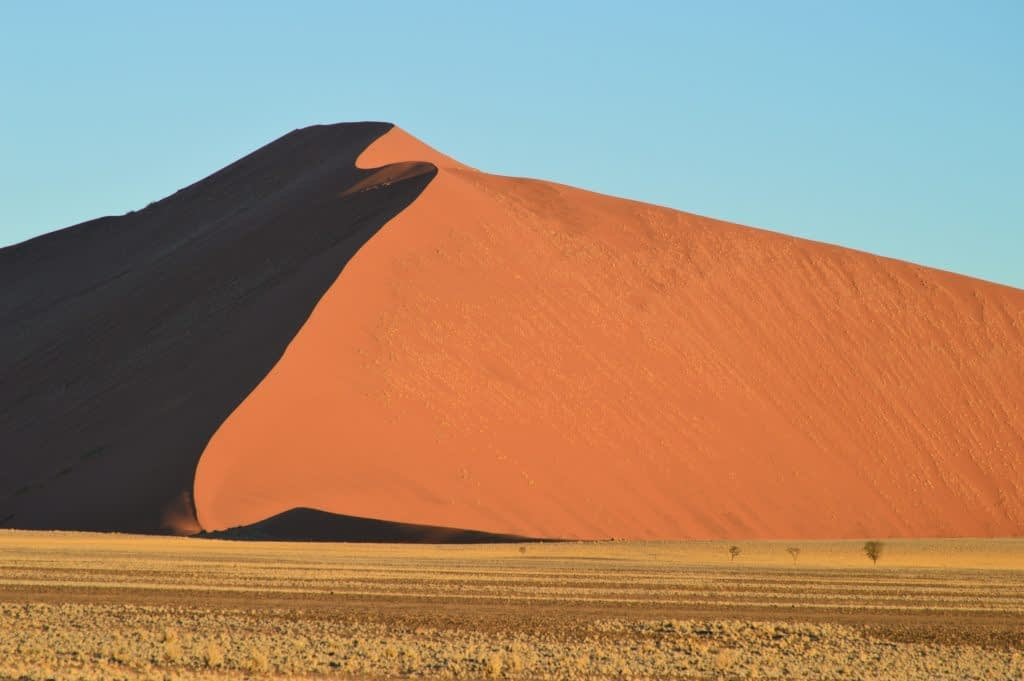 Giant Red Star Sand Dunes