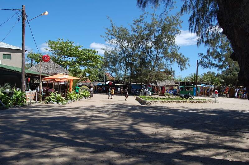 Farmers market Tofo Beach MOzambique