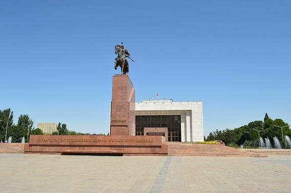 Manas Statue Ala-Too Square