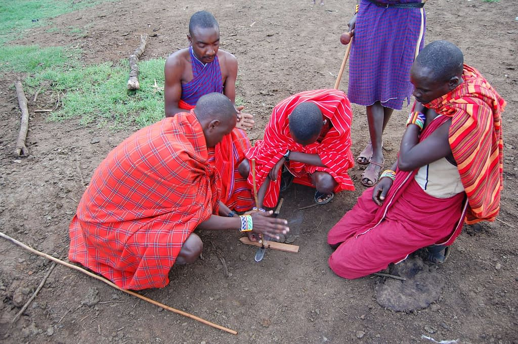 Stone Age Fire Starting Methods