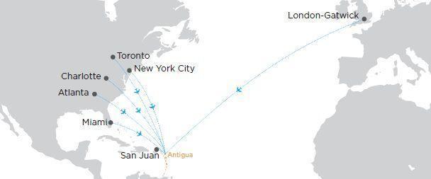 antigua and barbuda access map