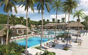 Six Senses La Sagesse, Grenada - View of Swimming Pools