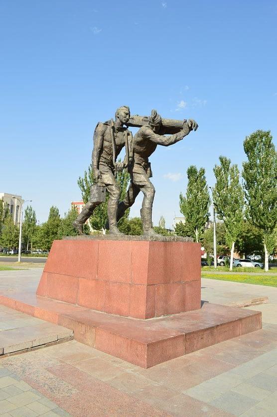 Victory Square Bishkek War Monument
