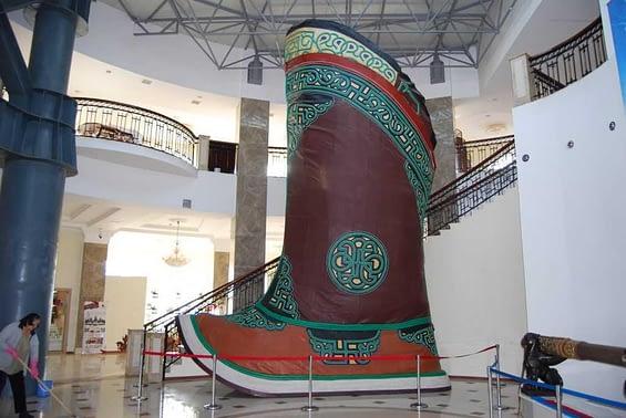 World's Largest Shoe