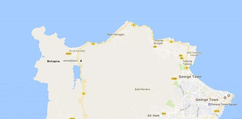 Pulau Pinang Map