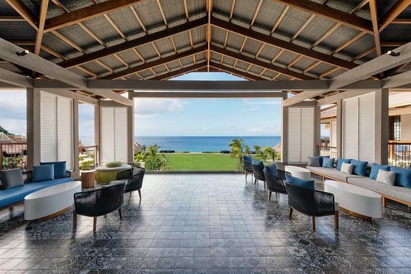 Cabrits Resort and Spa Kempinski Dominica- Patio