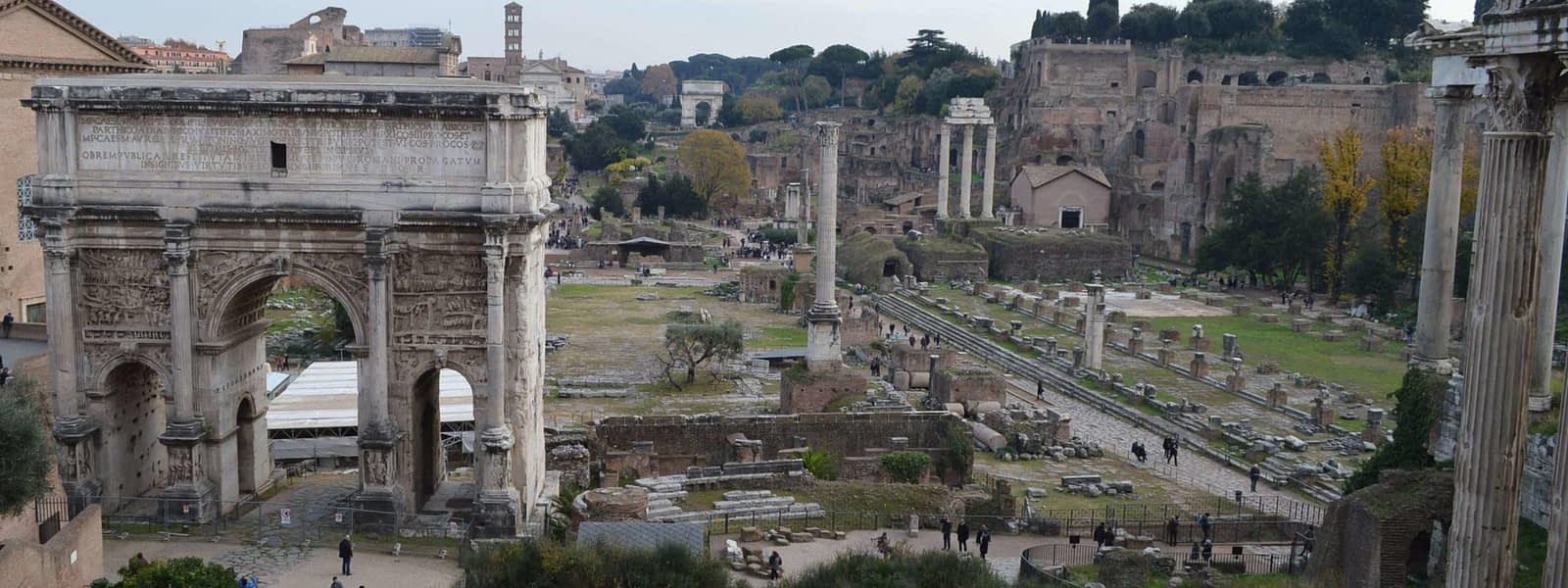 Roman Forum and the Remnants of Empire