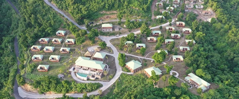 View of Jungle Bay Development July.2.2020