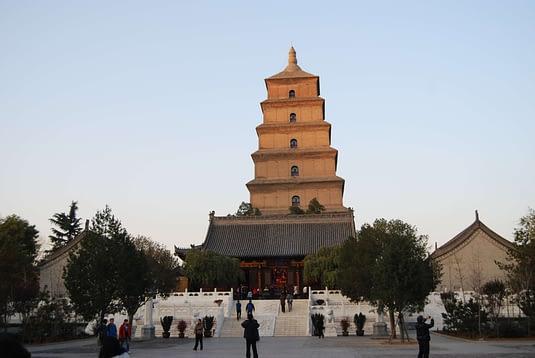 Photo Giant Wild Goose Pagoda Xi'an, China