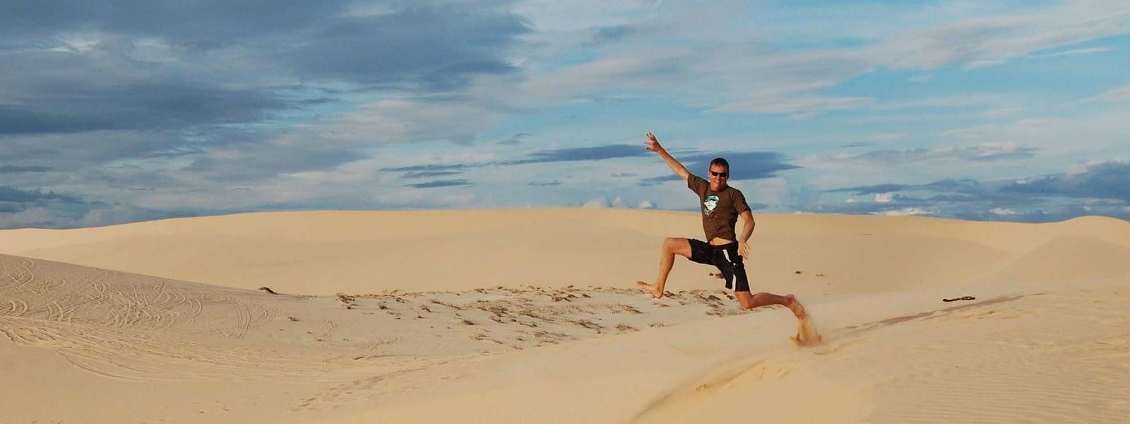 Bao Trang Sand Dunes Vietnam