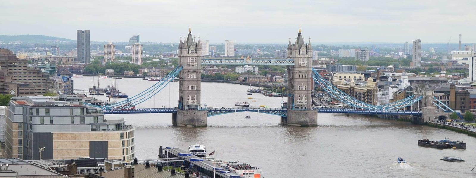 London Bridge Thames River - Global Citizenship Icon