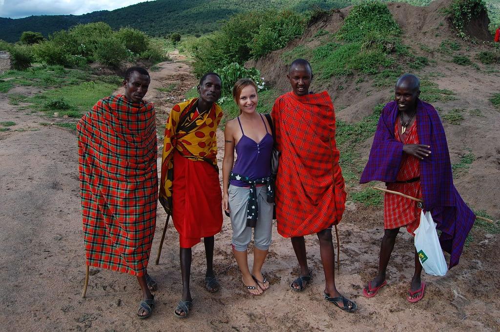 Photo Elders of the Maasai village