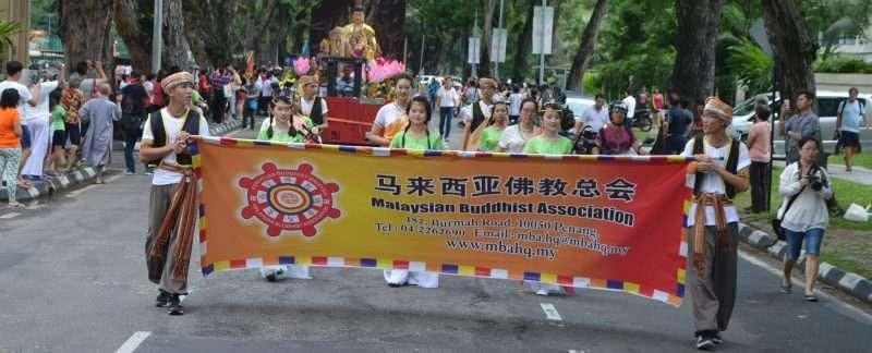 Wesak Day Procession In Penang, Malaysia