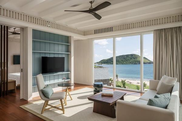 Park Hyatt St. Kitts Luxury Hotel - Executive Suite Living Room