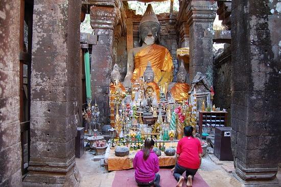 Wat Phu Central Sanctuary