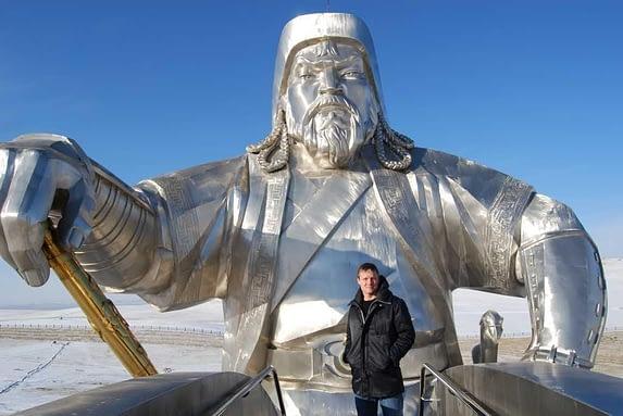 Genghis Khan Equestrian Statue Viewing Platform