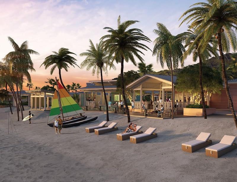Beach Club, Six Senses La Sagesse Grenada