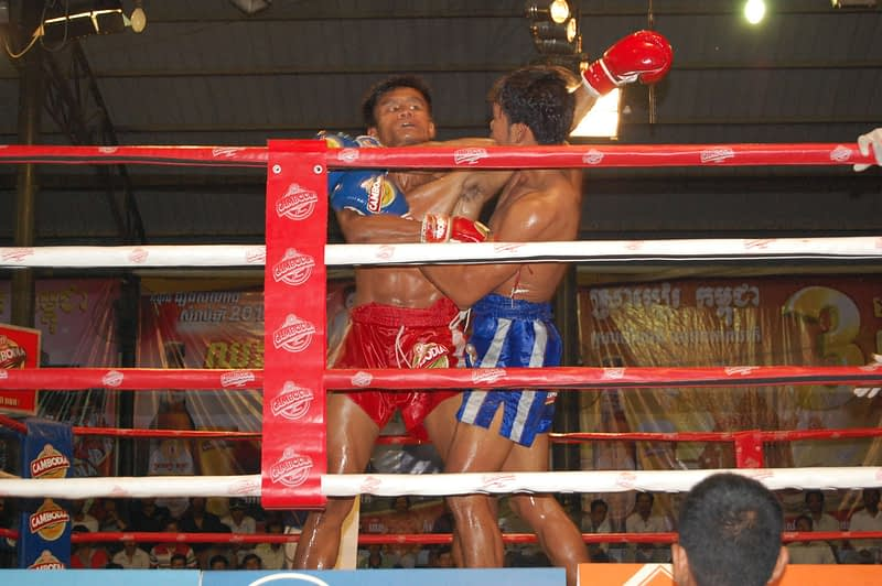 Photo Khmer Kickboxing Arena Phnom Penh Cambodia
