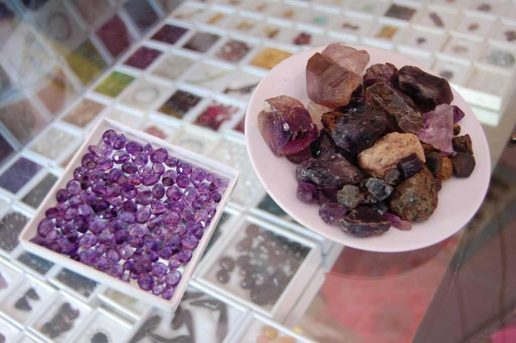 Amethyst Gemstones Pailin Cambodia