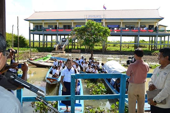 Prey Chas School Opening Ceremony