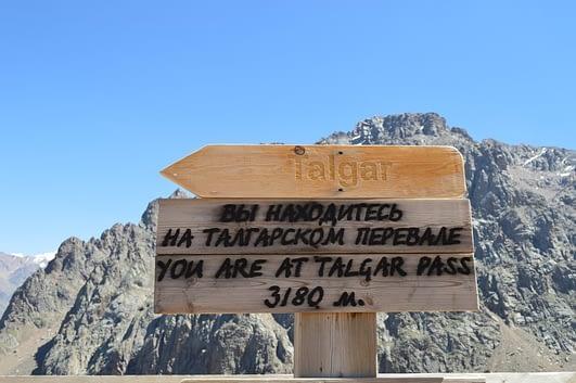 Talgar Pass